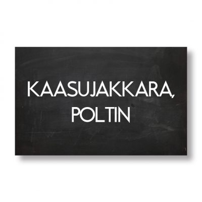 KAASUJAKKARA, KAASUPOLTIN