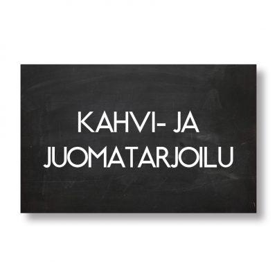 KAHVI- JA JUOMATARJOILU